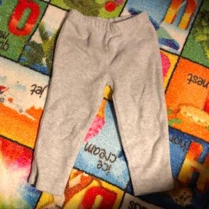 Euc 24 month carters fuzzy stretch pants.